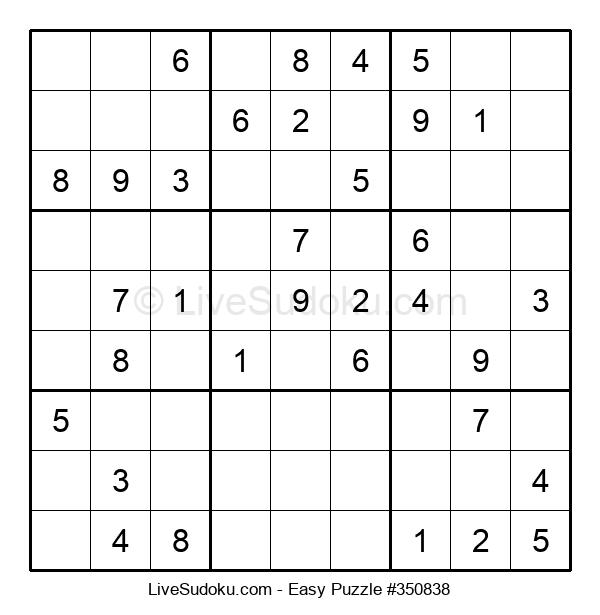 Beginners Puzzle #350838