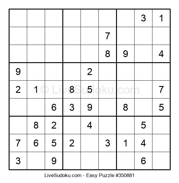 Beginners Puzzle #350881