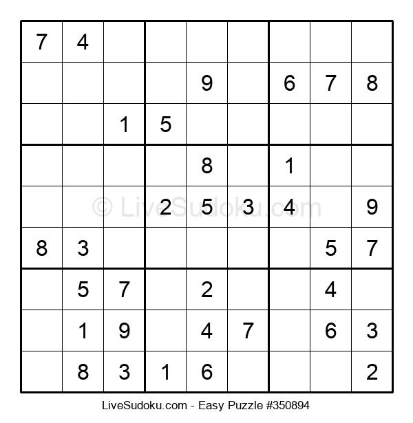 Beginners Puzzle #350894