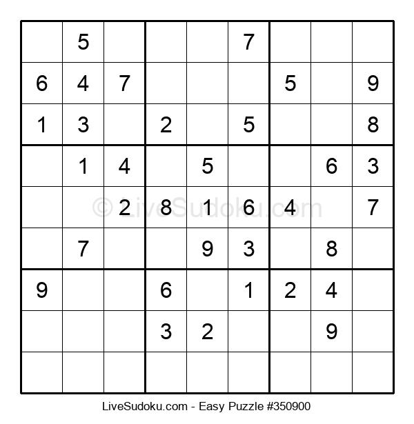 Beginners Puzzle #350900