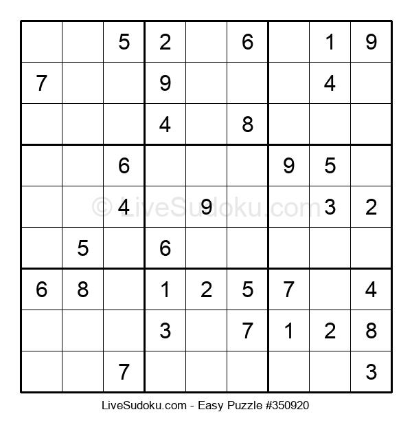 Beginners Puzzle #350920