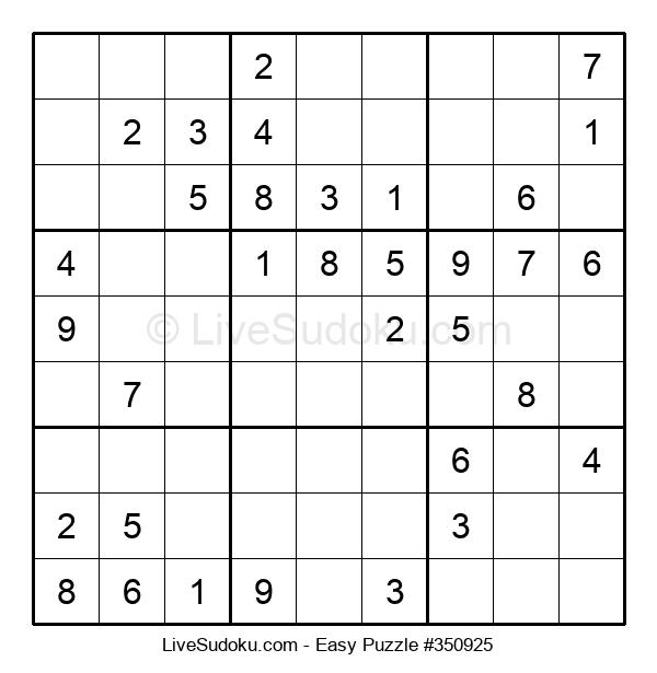 Beginners Puzzle #350925