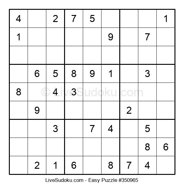 Beginners Puzzle #350965