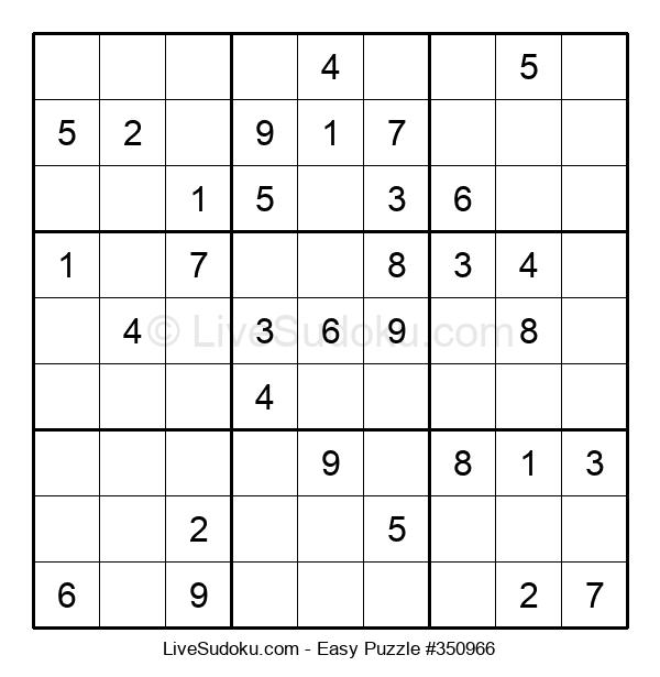 Beginners Puzzle #350966