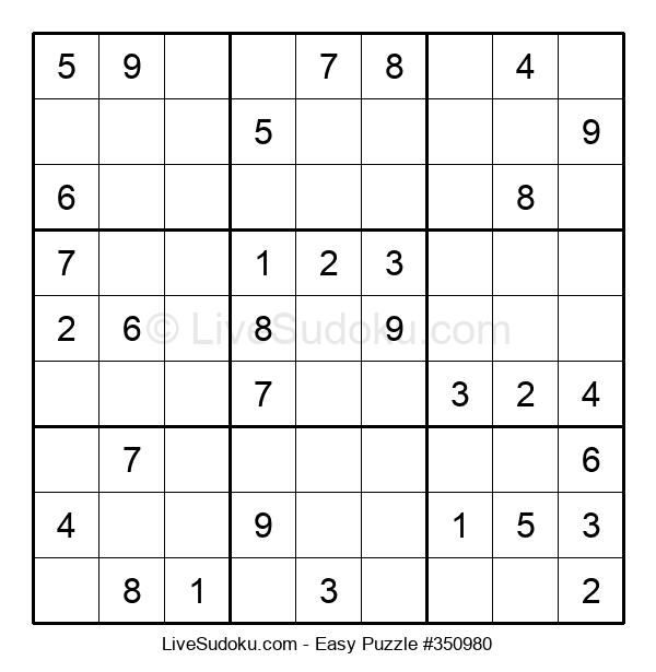Beginners Puzzle #350980