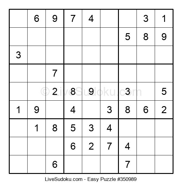 Beginners Puzzle #350989