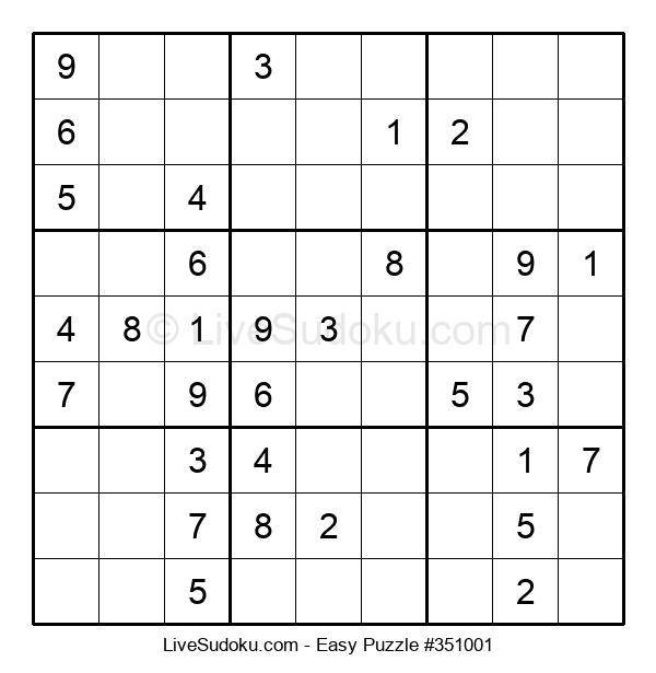 Beginners Puzzle #351001