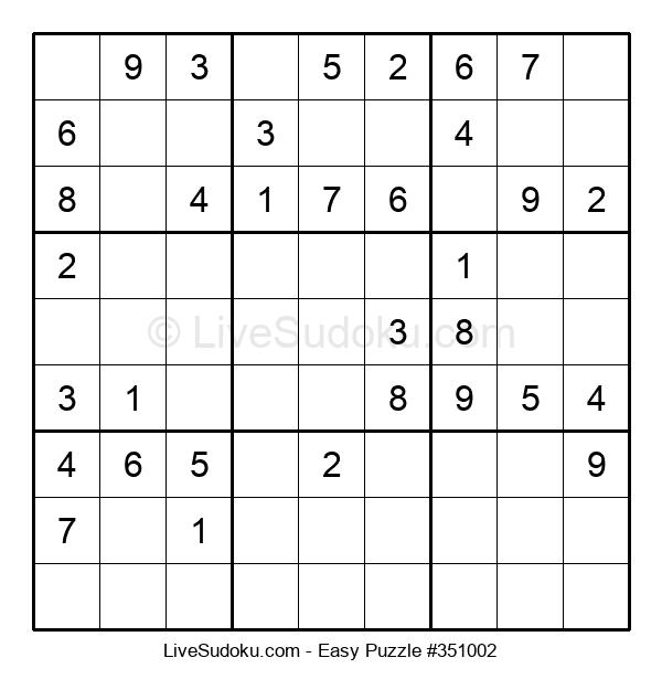 Beginners Puzzle #351002