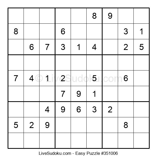 Beginners Puzzle #351006
