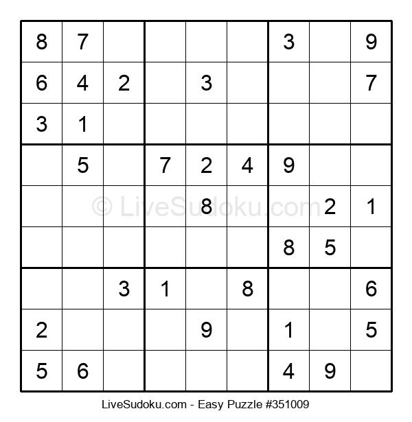 Beginners Puzzle #351009