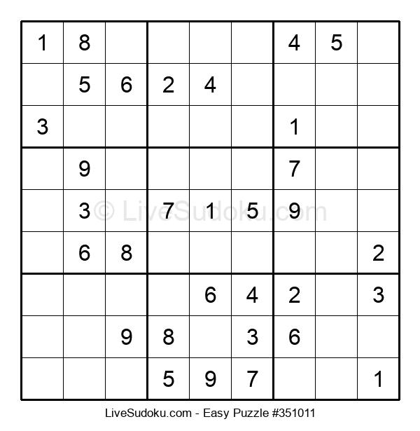 Beginners Puzzle #351011