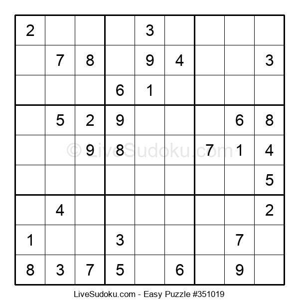 Beginners Puzzle #351019