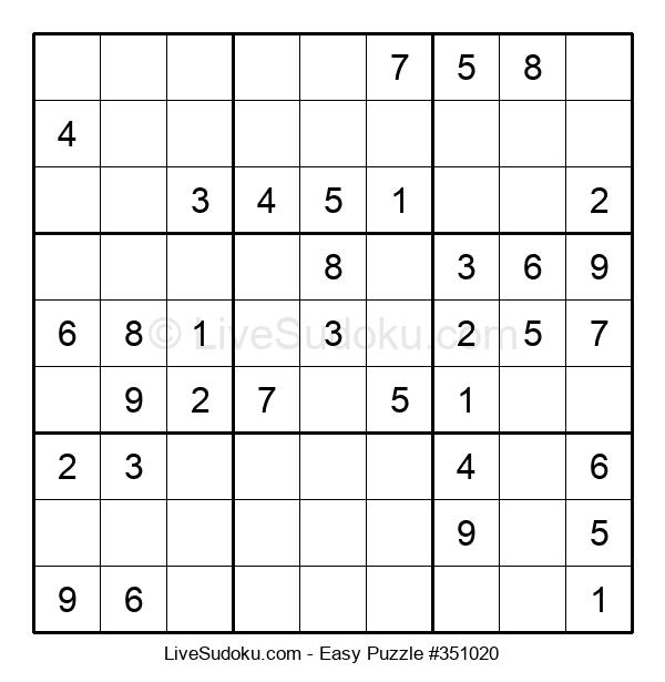 Beginners Puzzle #351020