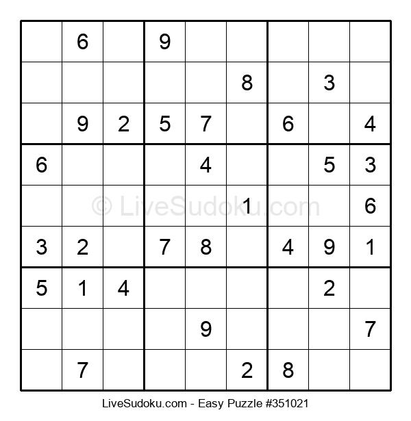 Beginners Puzzle #351021