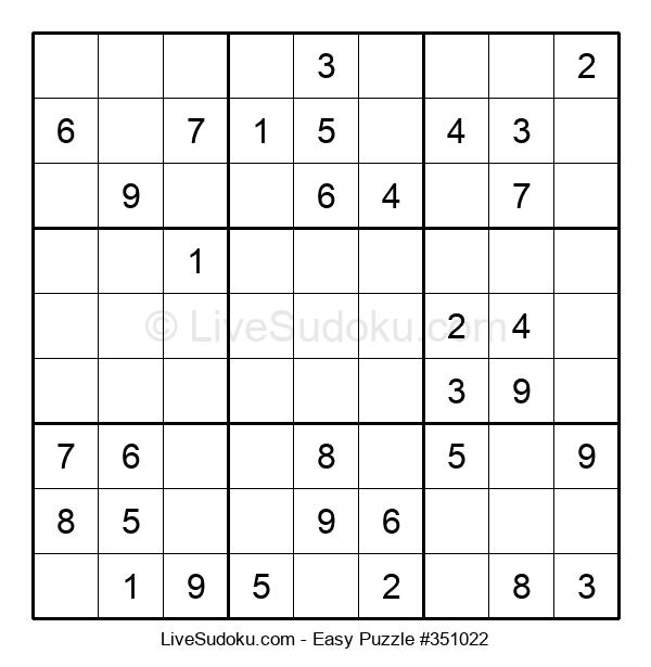 Beginners Puzzle #351022
