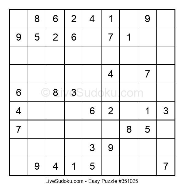 Beginners Puzzle #351025