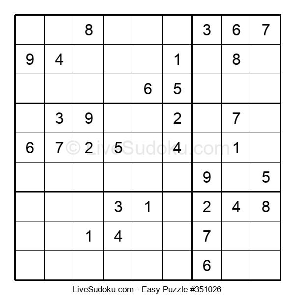 Beginners Puzzle #351026