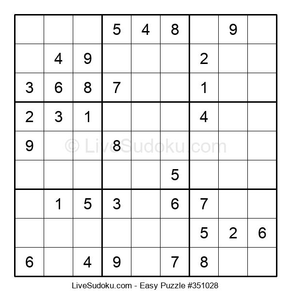 Beginners Puzzle #351028