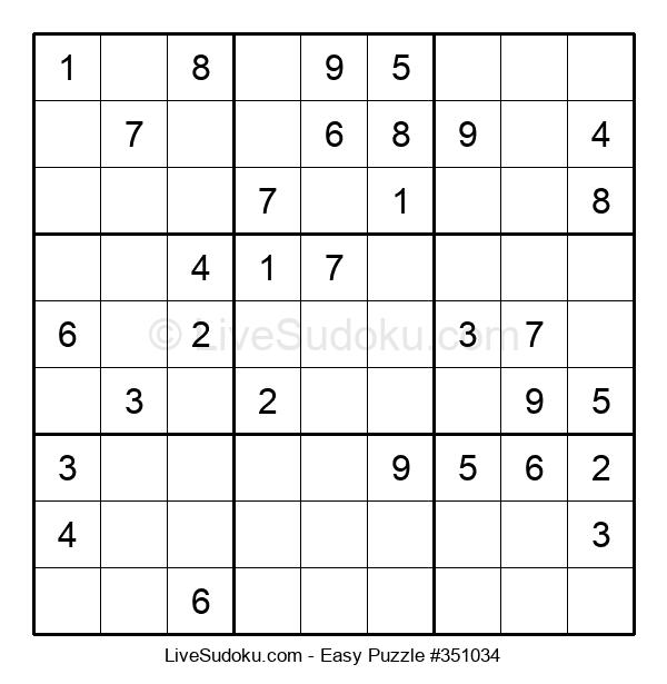 Beginners Puzzle #351034