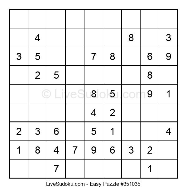 Beginners Puzzle #351035
