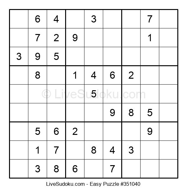 Beginners Puzzle #351040