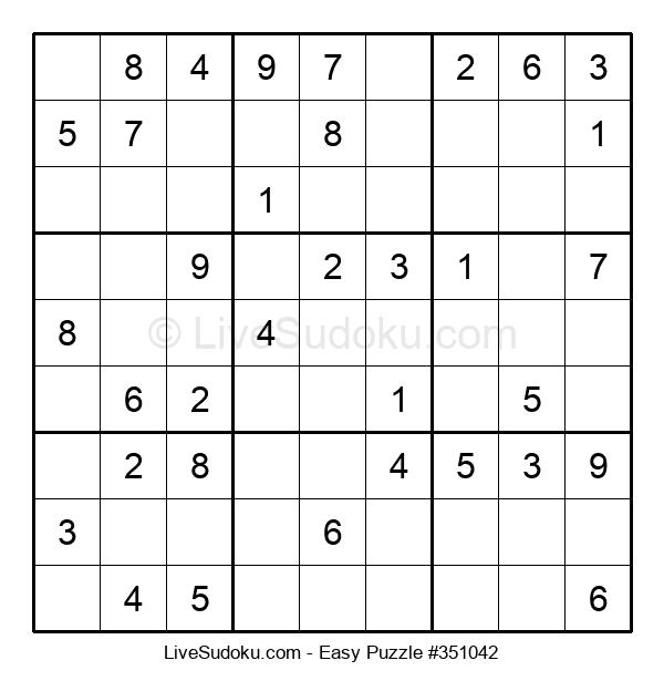 Beginners Puzzle #351042