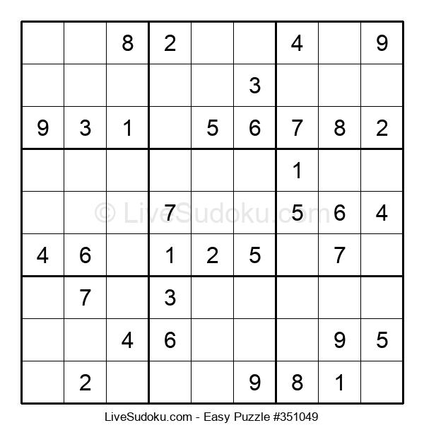 Beginners Puzzle #351049