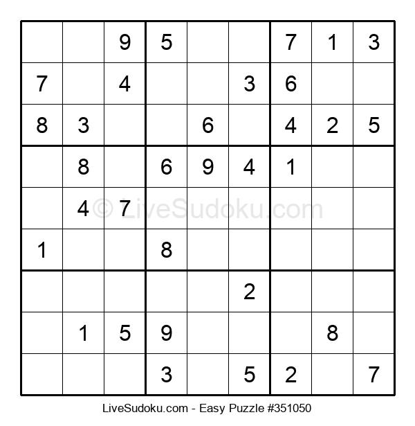 Beginners Puzzle #351050