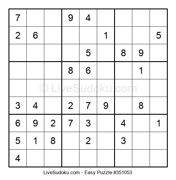 Beginners Puzzle #351053