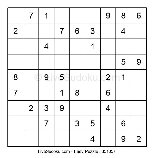 Beginners Puzzle #351057