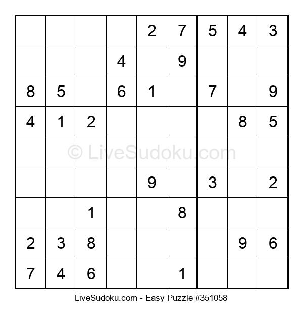 Beginners Puzzle #351058