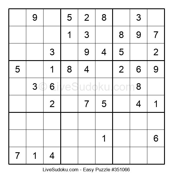 Beginners Puzzle #351066