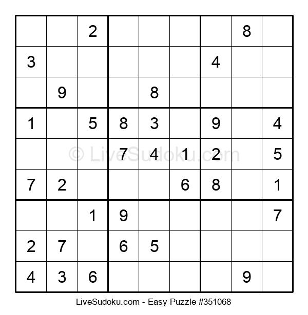 Beginners Puzzle #351068