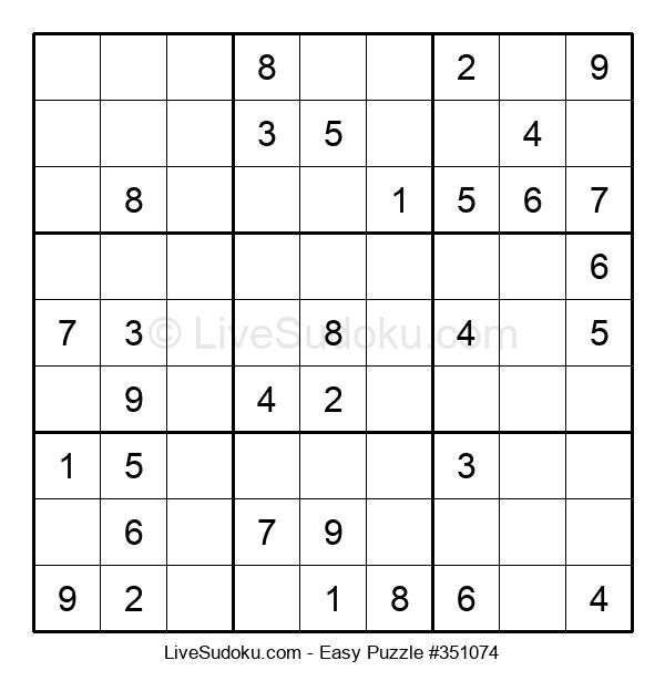 Beginners Puzzle #351074