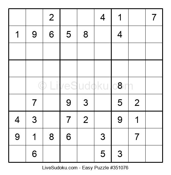 Beginners Puzzle #351076