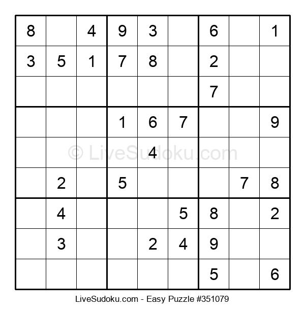 Beginners Puzzle #351079