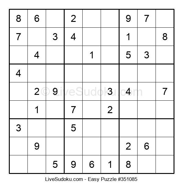 Beginners Puzzle #351085
