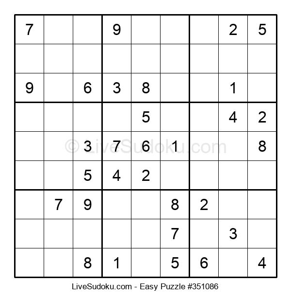Beginners Puzzle #351086