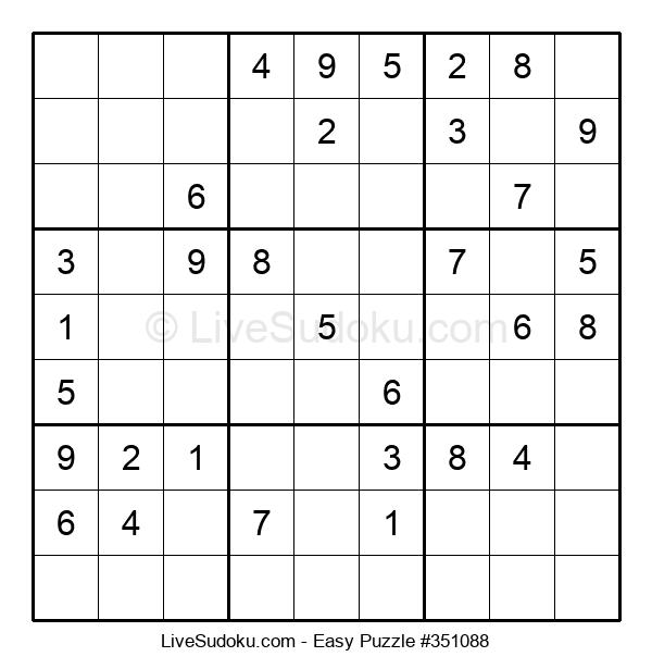 Beginners Puzzle #351088
