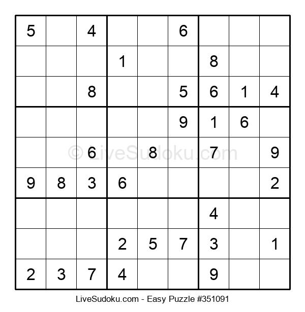Beginners Puzzle #351091
