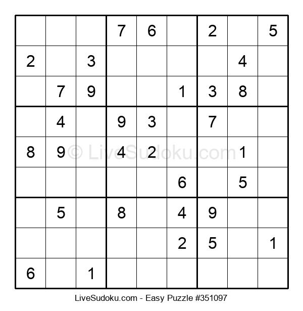 Beginners Puzzle #351097