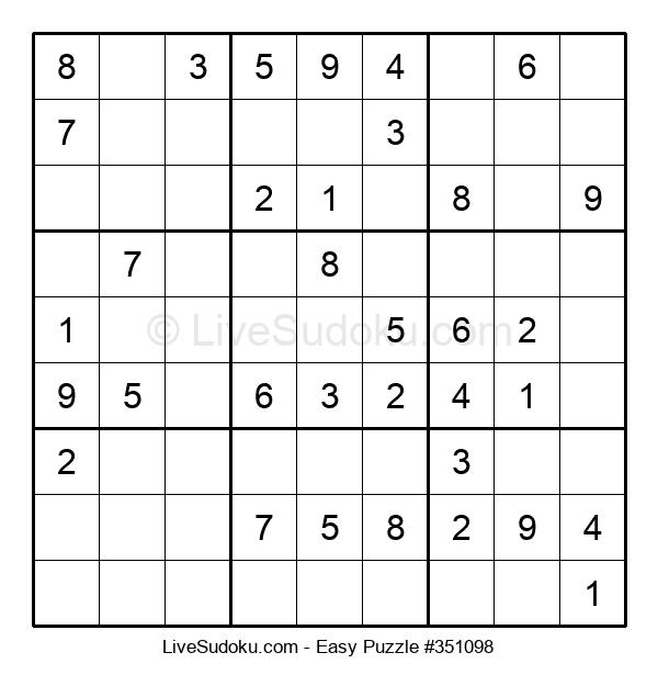 Beginners Puzzle #351098