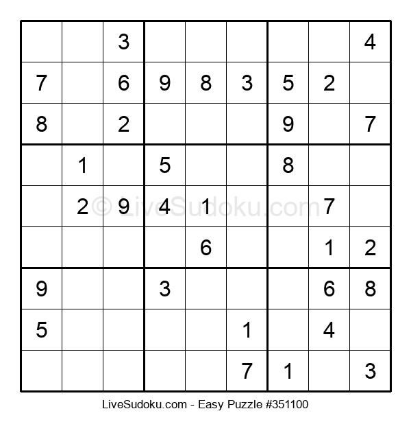 Beginners Puzzle #351100