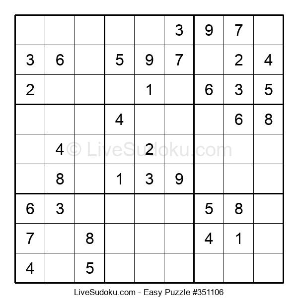 Beginners Puzzle #351106