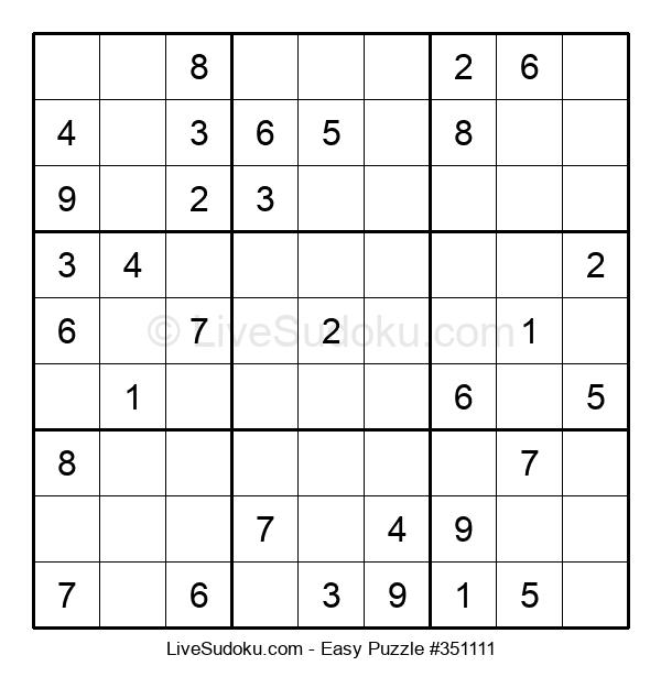 Beginners Puzzle #351111