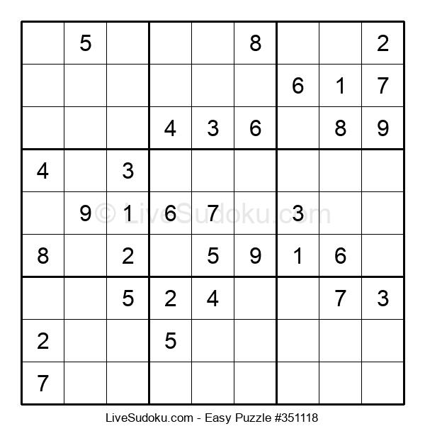Beginners Puzzle #351118