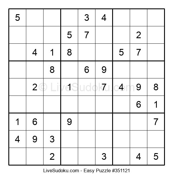 Beginners Puzzle #351121