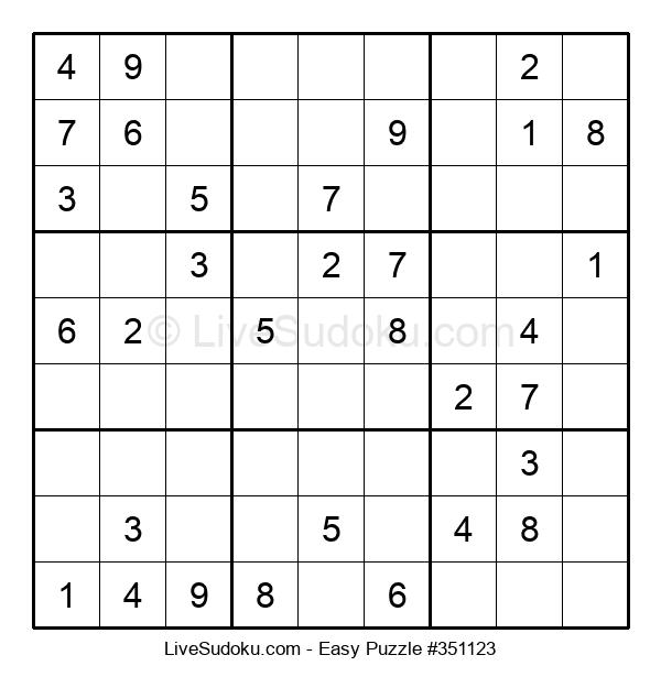 Beginners Puzzle #351123