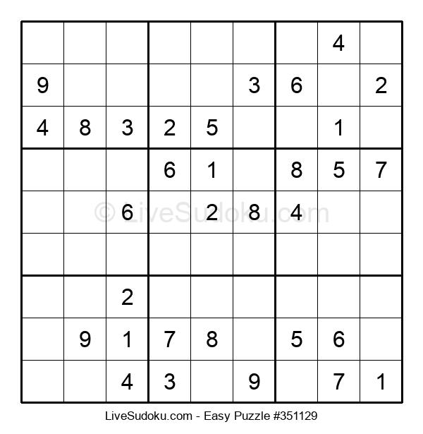 Beginners Puzzle #351129