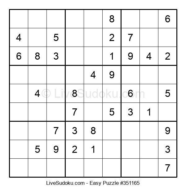 Beginners Puzzle #351165